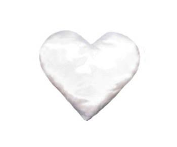 Подушка сердце без каймы и рюшок от производителя Украина