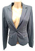 Пиджак женский 8003-3 на пуговицах карманы (деми)