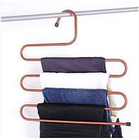 Многоуровневая вешалка для брюк, металлическая, фото 1