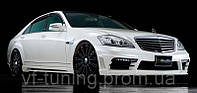 Комплект обвеса Wald Black Bison Mercedes W221