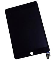 Дисплей (экран) для Apple iPad mini 4 + с сенсором (тачскрином) черный