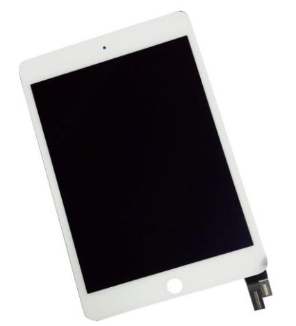 Дисплей (экран) для iPad mini 4  с сенсором (тачскрином) белый