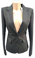 Пиджак женский 5706 на пуговицах карманы (деми)