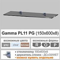 Полка стеклянная  PL11PG