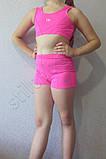 Топ детский спортивный розовый, фото 2