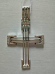 Серебряный Крест 3 полосы