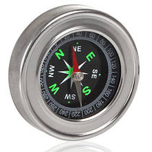 Компас магнитный LP75 диаметр 75 мм для ориентации походный туристический