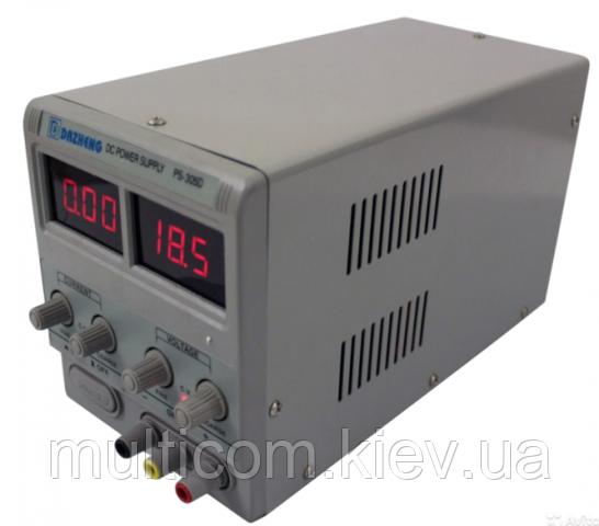 53-0102. Лабораторный блок питания Dazheng PS-305D, 30В, 5А