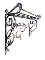 Кованая вешалка для одежды «Версаль декор»