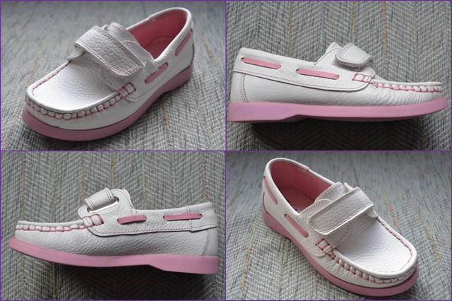 Туфли мокасины на девочку Toddler фото