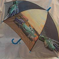 Зонт Детский трость полуавтомат Тачка Маквин 18-3129-11