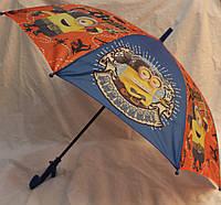 Зонт Детский трость полуавтомат Миньон 18-3130-1