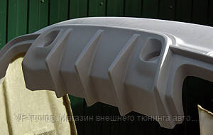 Задний бампер на Mercedes W221 Wald фото