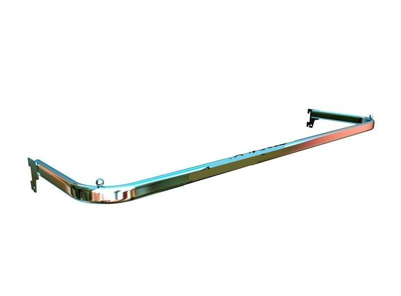 Дуга овальна хром в рейку 0.90 см