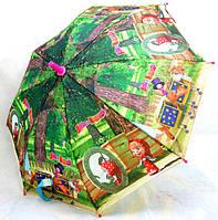 Зонт Детский трость полуавтомат Маша и Медведь 18-3130-4