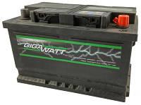 Автомобильный Аккумулятор GigaWatt 70 Ач (Гигават) GW 0185757009