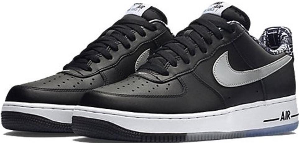 fb268d6fd Купить кроссовки Nike Air Force Black/White/Cool Grey в магазине  tehnolyuks.prom