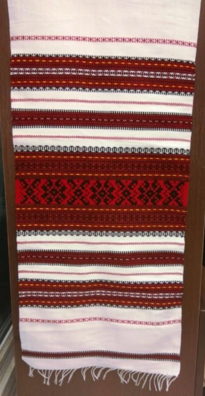 Весільний рушник тканий Р-35
