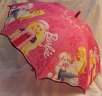 Зонт Детский трость полуавтомат Барби 18-3131-1