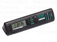 Термометр внут/наруж с подсв.и часами