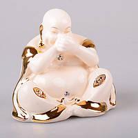 Статуэтка Будда молчу 13 см фарфор