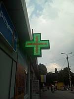 Светодиодный аптечный крест.800мм*800мм*120мм 600мм*600мм*100мм