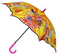 Зонт Детский трость полуавтомат Винкс 18-3132-2