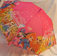 Зонт Детский трость полуавтомат Винкс 18-3132-3