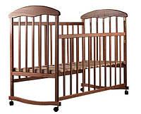 Детская кроватка Наталка. Кровать с качалкой, колесами.