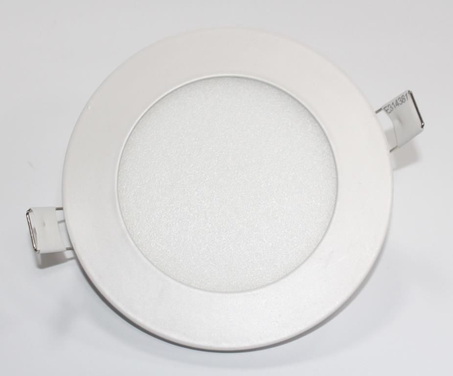 Светильник светодиодный PL-R6 6Вт круглый