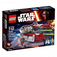 Lego Star Wars Перехватчик джедаев Оби-Вана Кеноби 75135