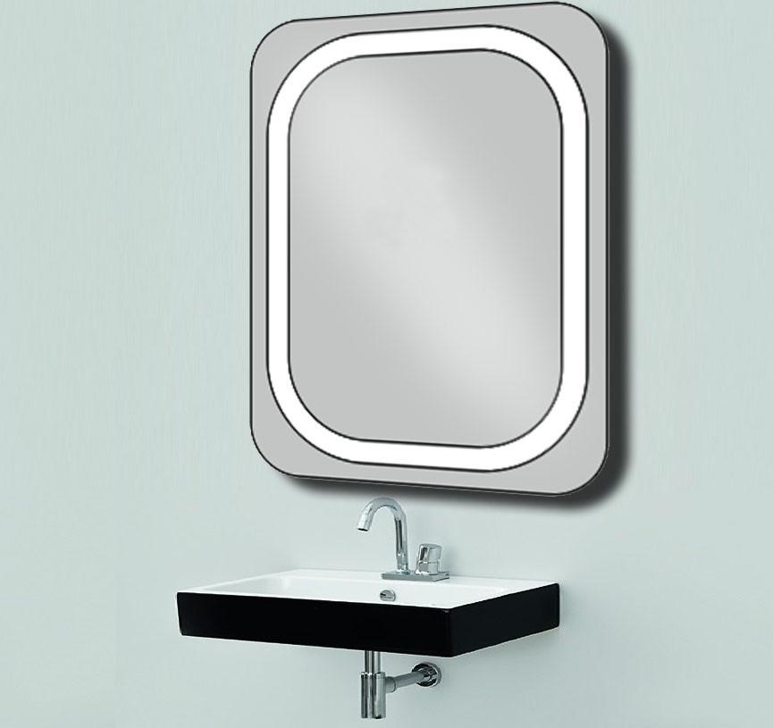 Дзеркало з LED підсвічуванням d-18 настінне