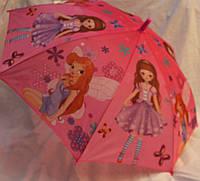 Зонт Детский трость полуавтомат Винкс 18-3132-6