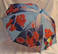 Зонт Детский трость полуавтомат Человек Паук 18-3135-1