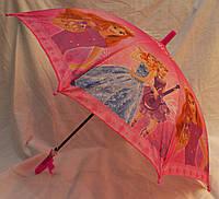 Зонт Детский трость полуавтомат Принцесса 18-3136-2