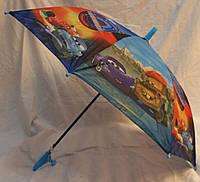 Зонт Детский трость полуавтомат Тачка 18-3137-3