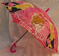 Зонт Детский трость полуавтомат Девочки 18-3138-2