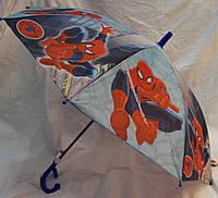 Зонт Детский трость полуавтомат Человек Паук 18-3135-2