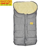 Конверт на овчине Kinder Comfort Arctic Grau (серый)