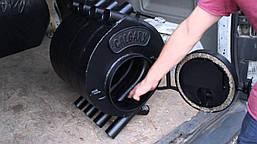 Канадская печь булерьян Vancouver 11 кВт - 240 М3 Тип-01. Бесплатная доставка., фото 2