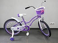 Детский велосипед Royal Child Girl 20 дюймов для девочки от 6 лет Роял Гелс.