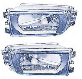 Противотуманная фара для BMW 5 E39 96-00 левая (FPS) гладкое стекло