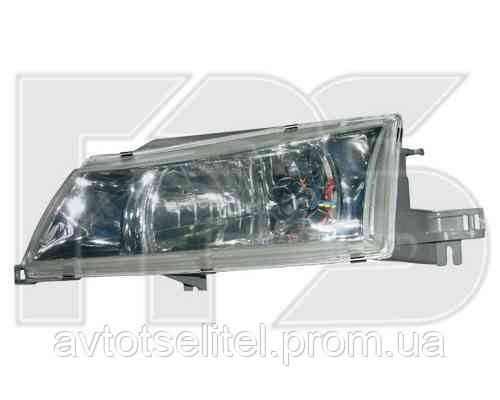 Фара передняя для Daewoo Nexia 95-08 правая (FPS) механическая гладкий рассеиватель