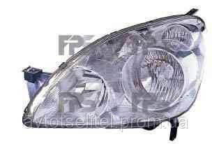 Фара передняя для Honda CRV 04-06 левая (DEPO) под электрокорректор