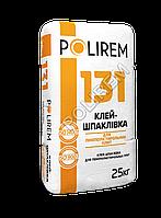 Клей шпаклевка для ПЕНОПЛАСТОВОГО утеплителя POLIREM 131