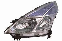 Фара передняя для Nissan Teana 08- правая (DEPO) H11 + H9 под электрокорректор