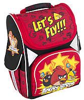 Школьный каркасный рюкзак – ранец Angry Birds с ортопедической спинкой