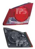 Фонарь задний для Honda Civic 4d седан 06-09 правый (DEPO) внутренний