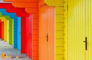 Фарба для дерев'яних фасадів