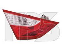 Фонарь задний для Hyundai Sonata 10- правый (DEPO) внутренний